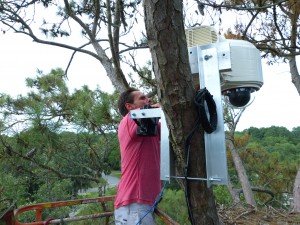 Installation of the Eagle Cam