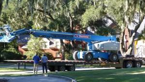 The Crane Arrives